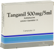 Tanganil 500 mg/5 ml, solution injectable i.v. en ampoule