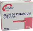 Alun de potassium poudre